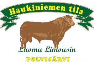 Logo/Etiketti Haukiniemen tila polvijärvi